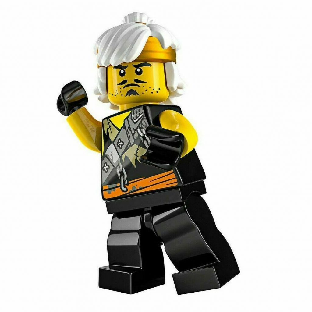 LEGO NINJAGO Young Wu LIMITED EDITION Foil Pack Set Teen Minifigure Sensei