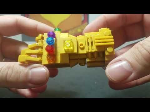 Lego INFINITY STONE GAUNTLET Marvel Minifigure Review