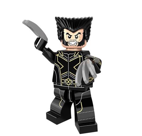 01 Big Bricks Custom FOX X-Men Wolverine Mavrel DC SuperHeroes Minifigures Toy Mini figure Fit Lego Blocks PG337