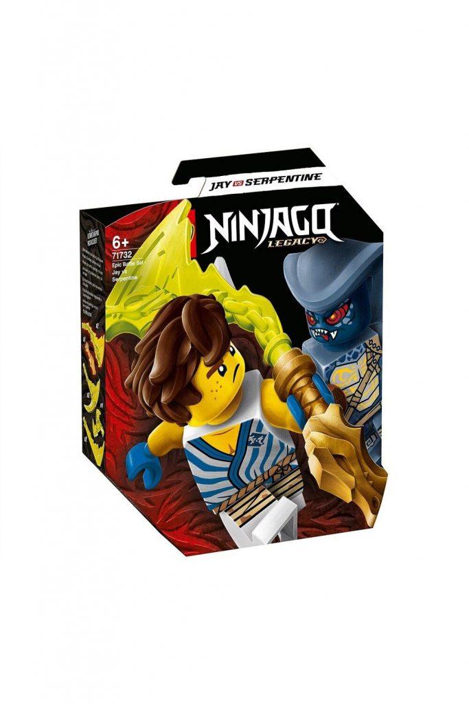 David Jones Lego 71732 Epic Battle Set – Jay Vs. Serpentine in Ninjago