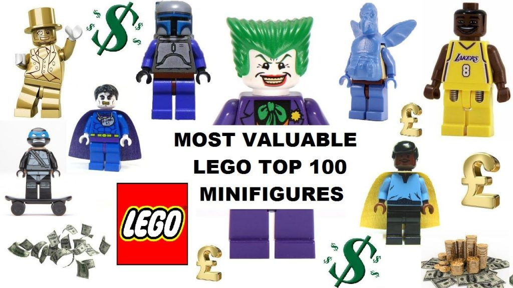 complete list of top 100 most valuable rarest lego figures minifigs