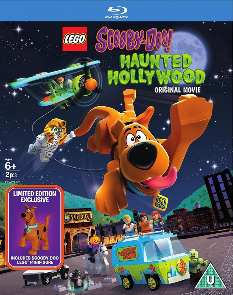 LEGO: Scooby-Doo: Haunted Hollywood [Mini Figurine Edition] [Blu-ray] [2016] [Region Free]