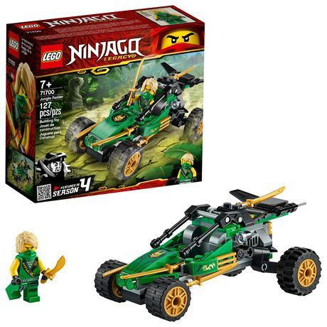 LEGO NINJAGO Legacy Jungle Raider 71700 Ninja Toy Building Kit (127 Pieces) | Walmart Canada