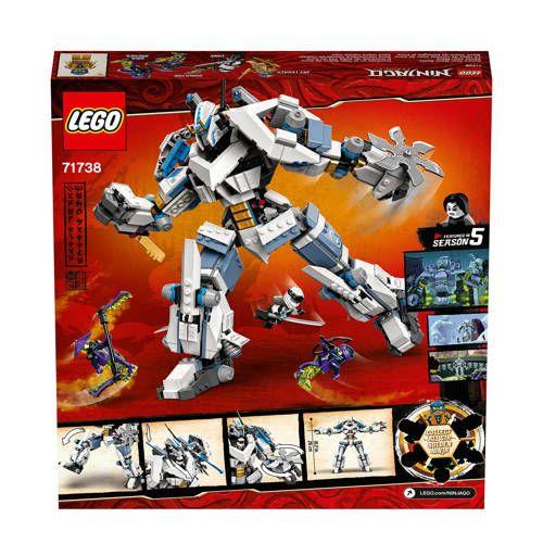 LEGO Ninjago Zane's Titanium Mech 71738