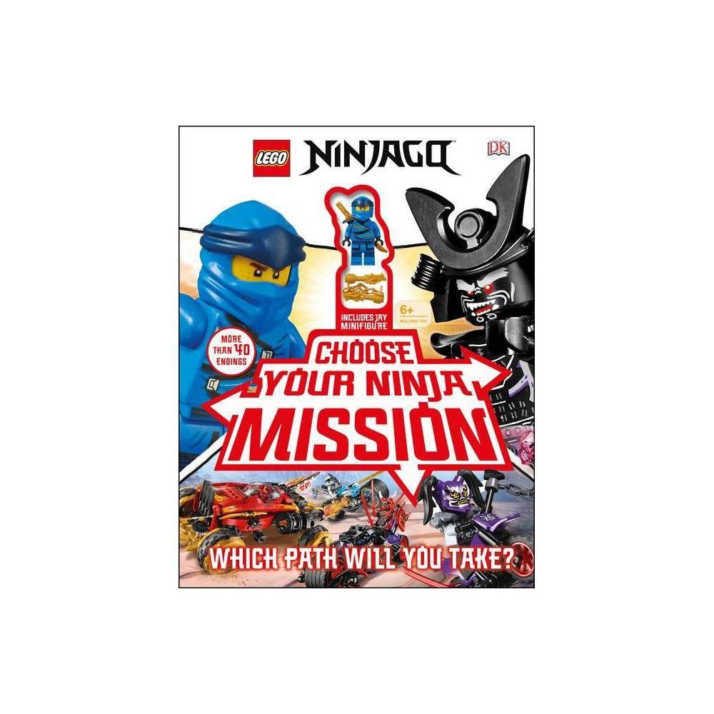 Lego Ninjago Choose Your Ninja Mission – by Simon Hugo (Mixed Media Product)