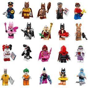 DC: Lego Batman Movie: Minifigures