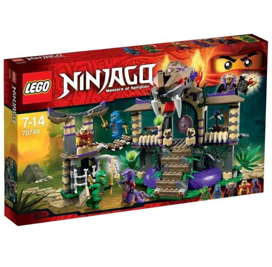 LEGO Ninjago Enter The Serpent – 70749. for sale online   eBay