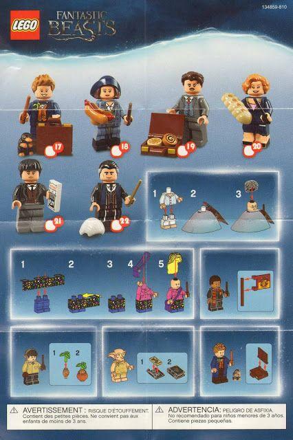 Lego Minifigure Series 1 -19, Ninjago Movie, Batman Movie Series 1 and 2,  Lego Movie, Simpson, Disney, Harry Potter, DC Superheroes – Checklists and Visual Guides