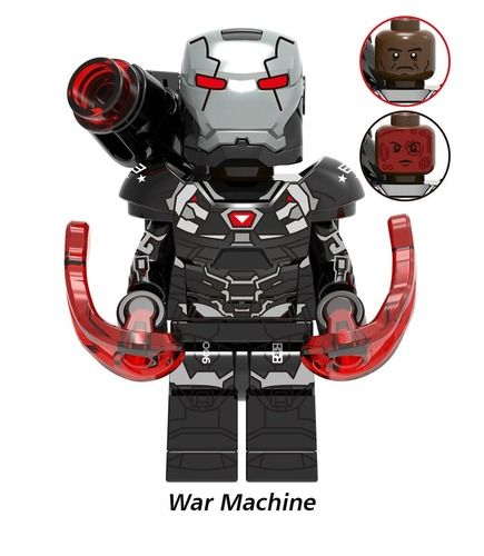 War Machine MK 6 Avengers Endgame Minifigs Fit Lego