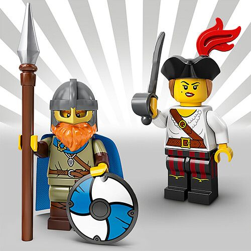 Collectable Minifigures Series 20 official images!