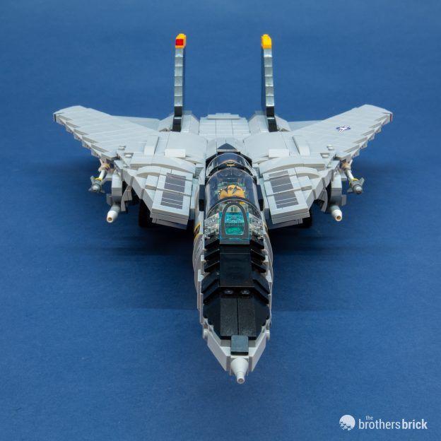 Brickmania LEGO 1033 F-14 Tomcat Review-35   The Brothers Brick
