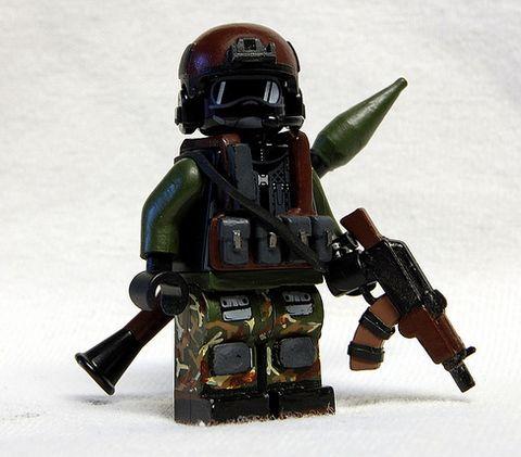 RU Engie Custom Minifigure | Custom LEGO Minifigures