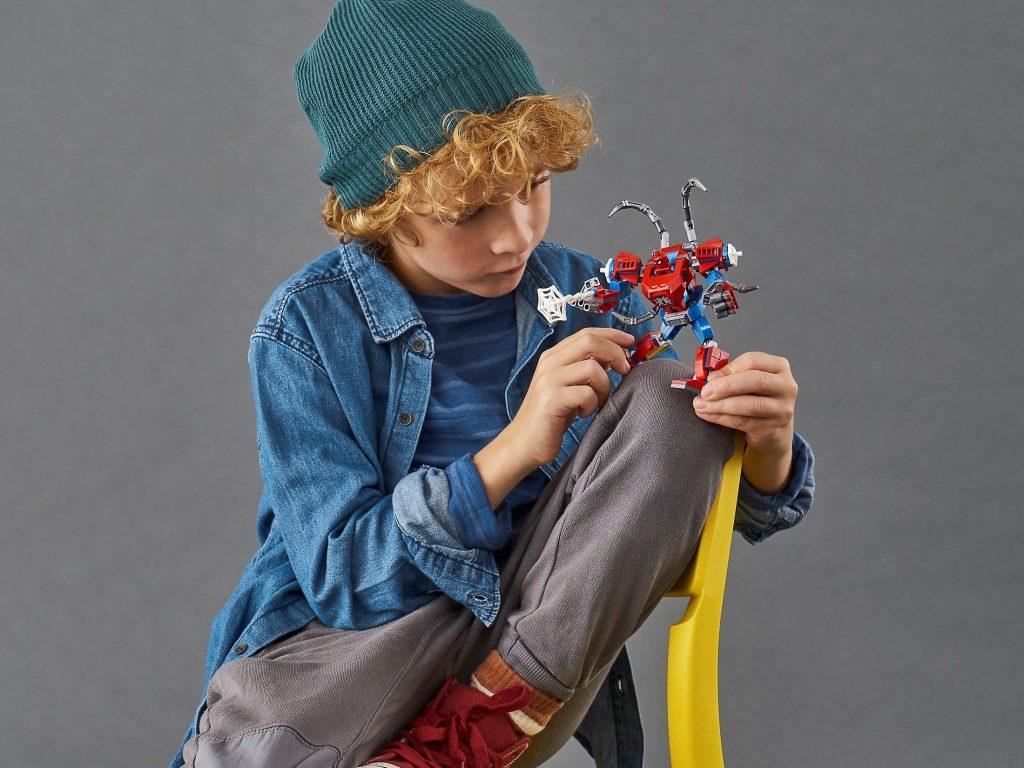 LEGO 76146 SpiderMan Mech – Marvel Super Heroes Super Heroes
