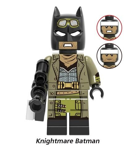 Knightmare Batman Custom Minifigures Minifigs Fit Lego