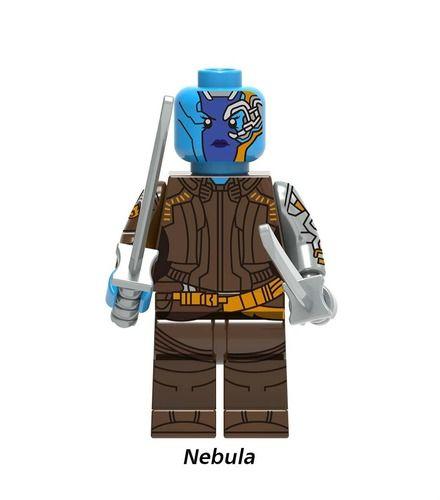 Nebula Avengers Endgame Minifigs Fit Lego