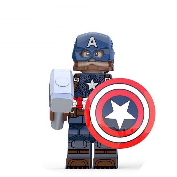 Captain America Avengers Endgame Lego Compatible Building Block Figure Minifigure Minifig Doll Toy