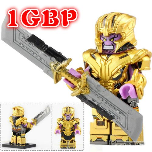 1GBP Special Offer: Thanos Avengers Endgame Custom Marvel Super Heroes Minifigs W788SP1
