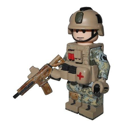 Custom LEGO Minifigures.