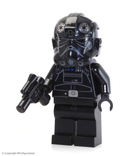 Tie fighter Pilot movie Star Wars Custom Minifigure toy return Jedi