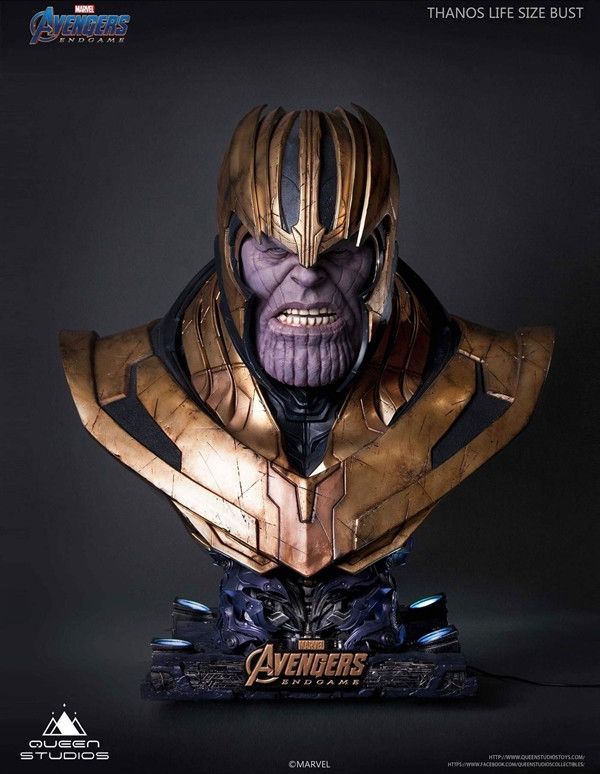 Avengers: Endgame – Thanos – Limited Edition Life Size Büste – Queens Studio – Merchandise & Fanartikel Online Shop
