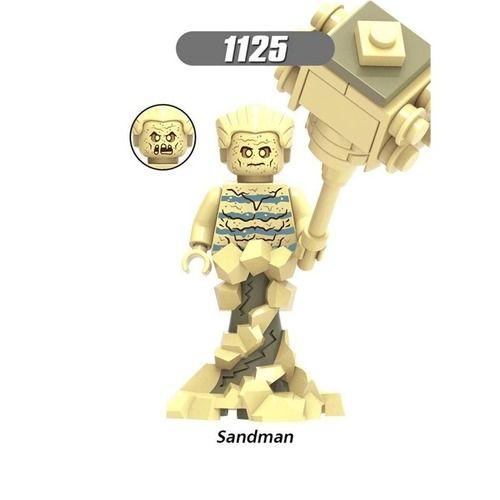 Sandman Marvel Custom Minifigures Minifigs Fit Lego