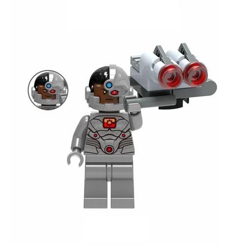 01BigBricks Cyborg Minifigure Lego