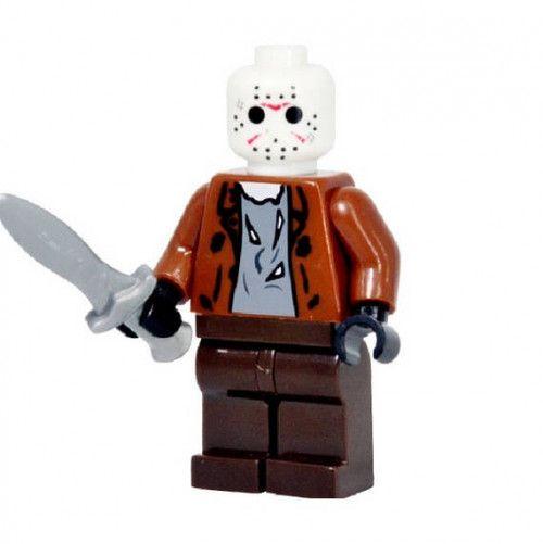 Jason Friday the 13th Horror Movie Custom Minifigure toy figure