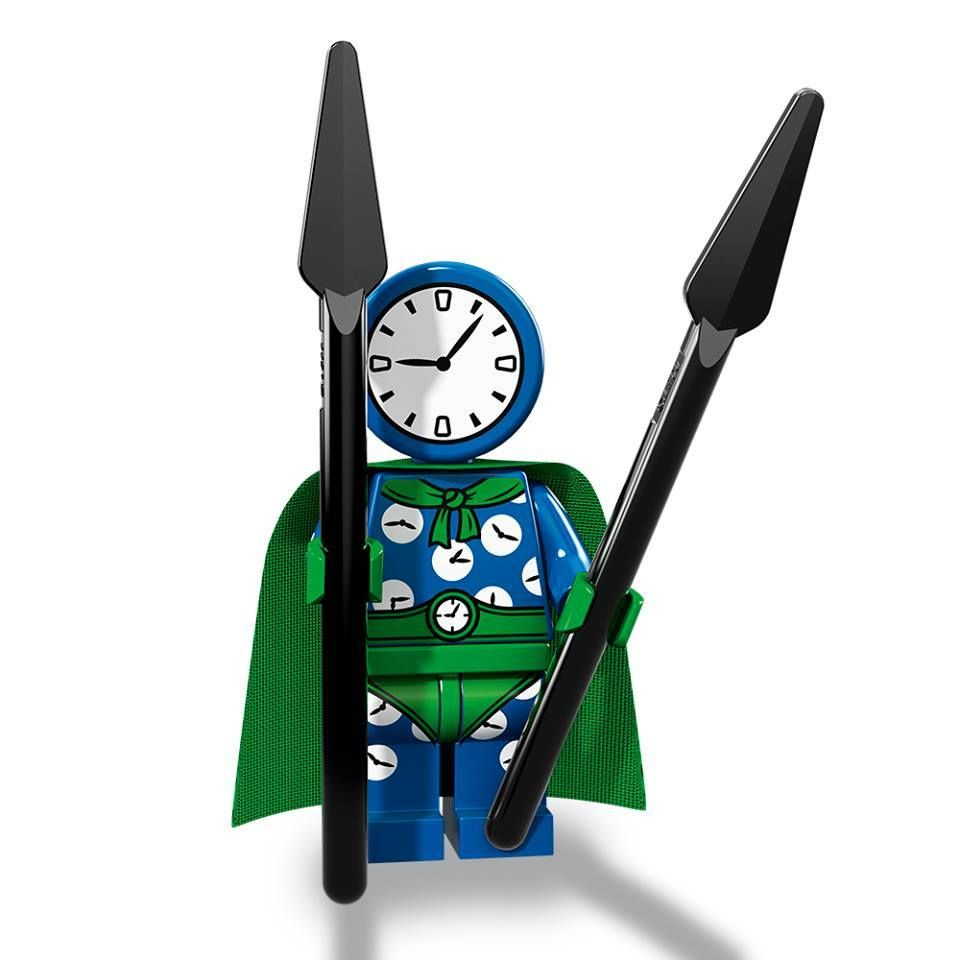 Clock King – The BATMAN Movie series 2 LEGO Minifigure