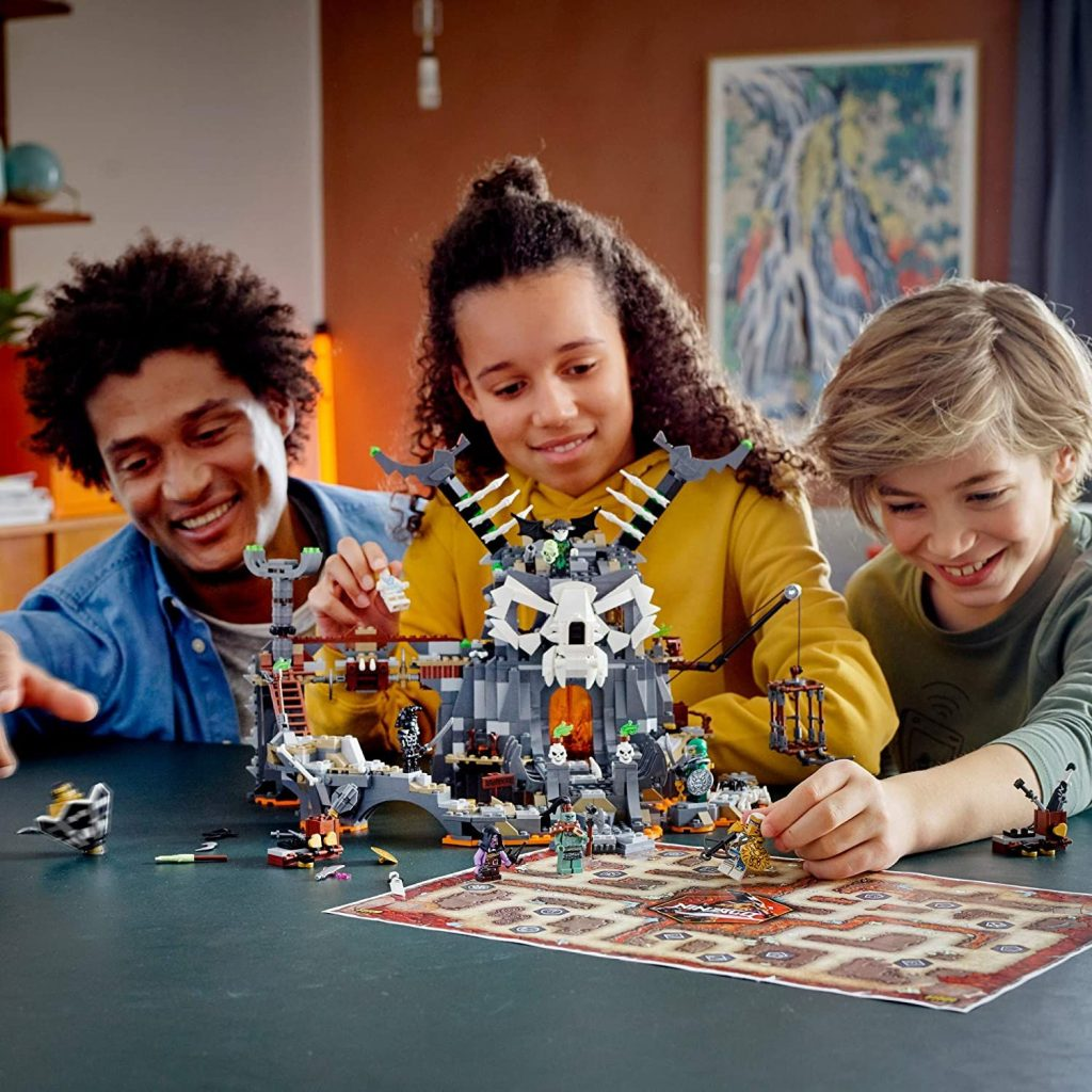 LEGO Ninjago 71722 Skull Sorcerer's Dungeons (1,171 Pieces) Building Kit New 2020
