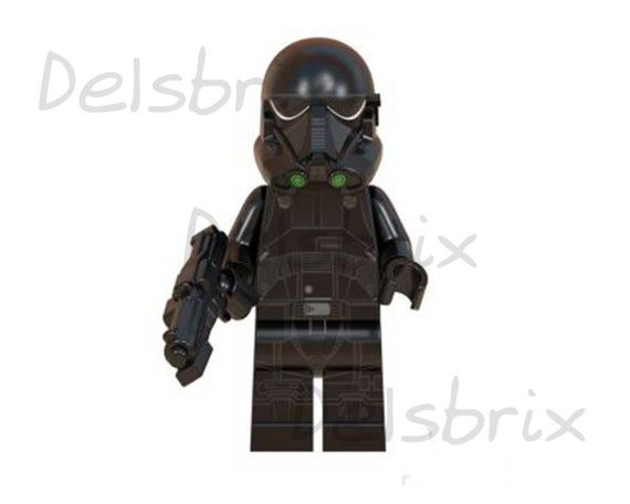 Star Wars custom minifigures death trooper Phasma commander | Etsy