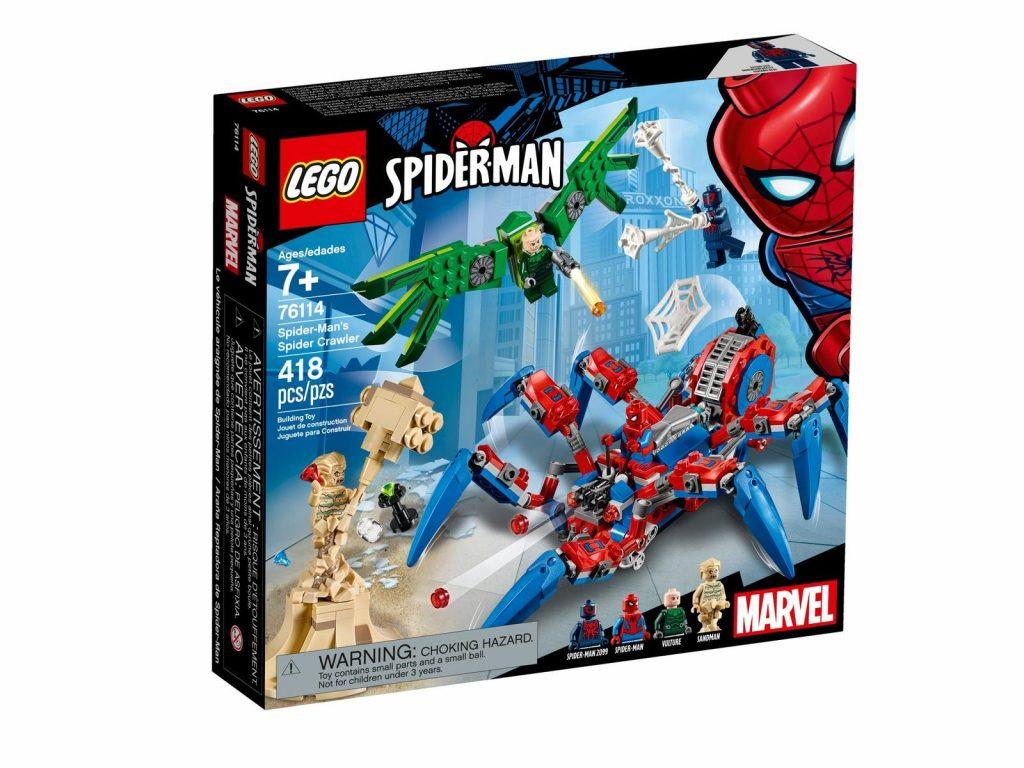 Spider-Man's Spider Crawler 76114 | Marvel | Buy online at the Official LEGO® Shop US