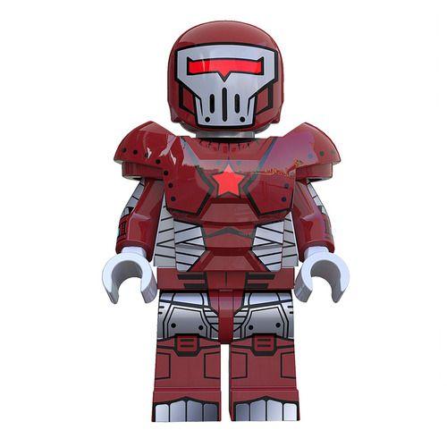 Crimson Dynamo Super Heroes Custom Minifigs Fit Lego