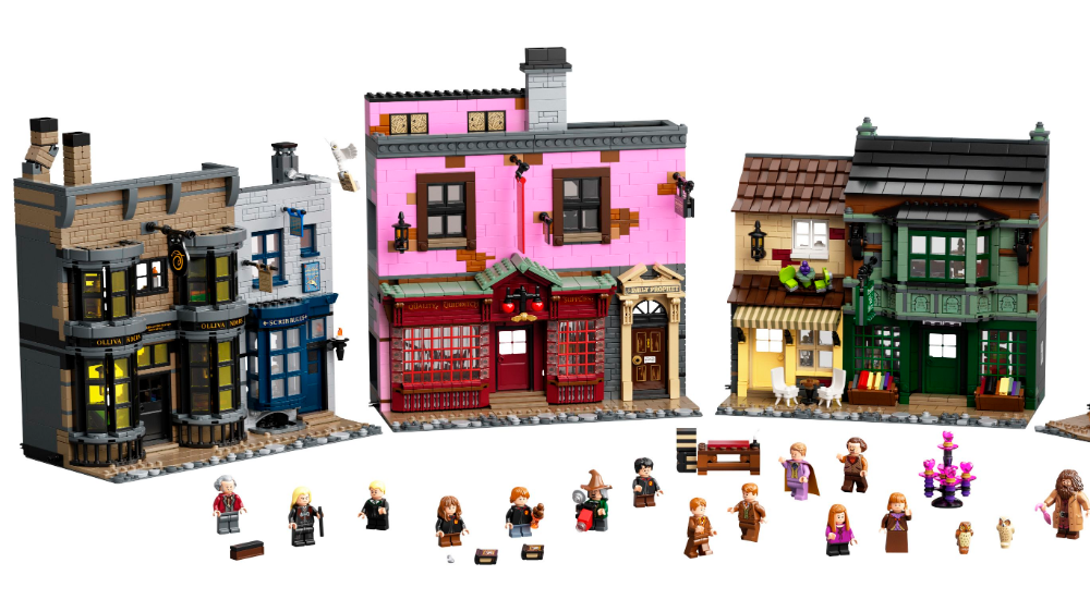 Apparate to Diagon Alley With This 5544-Piece Harry Potter LEGO Set