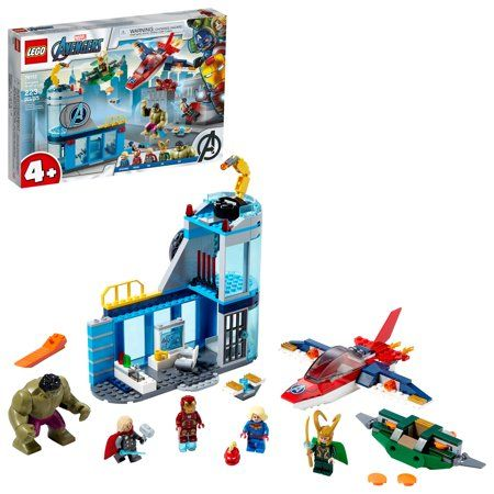 Lego Marvel Avengers Wrath of Loki 76152 Cool Building Toy with Marvel Avengers Minifigures (223 Pieces), Multicolor