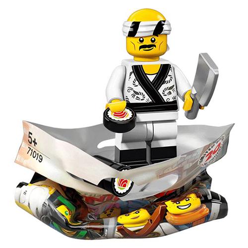 Sushi Chef – The LEGO NINJAGO Movie LEGO Minifigure