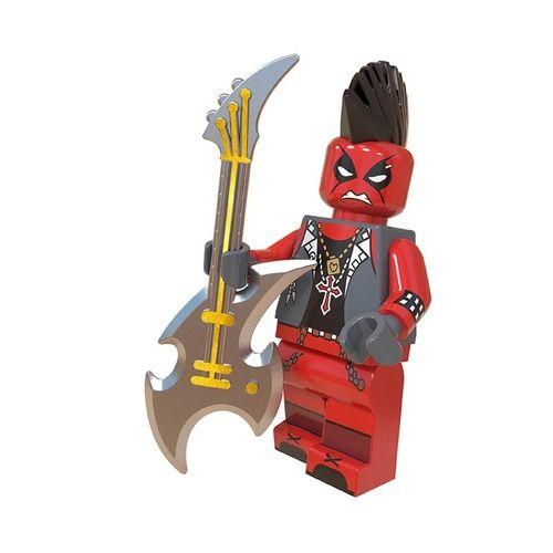 01BigBricks Custom Deadpool Marvel Minifigs Fit Lego
