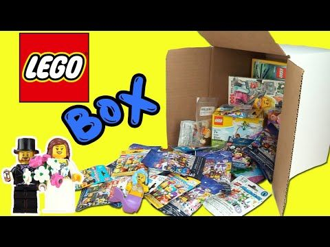 Lego Minifigures ALL SERIES Box Opening + Activity Book Collection!! Disney, Ninjago, Simpsons Toys