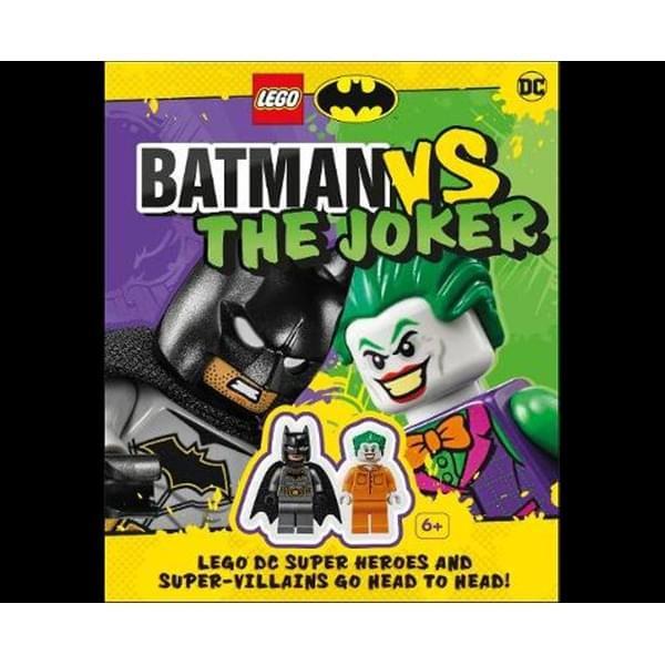 LEGO Batman Batman Vs. The Joker : with two LEGO minifigures