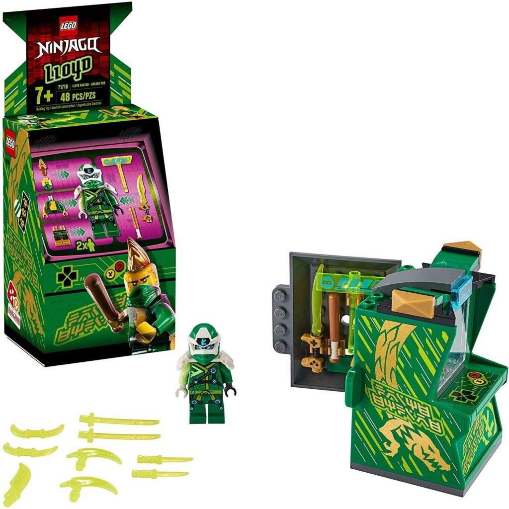 LEGO NINJAGO Lloyd Avatar – Arcade Pod 71716 Mini Arcade Machine Building Kit, New 2020 (48 Pieces)