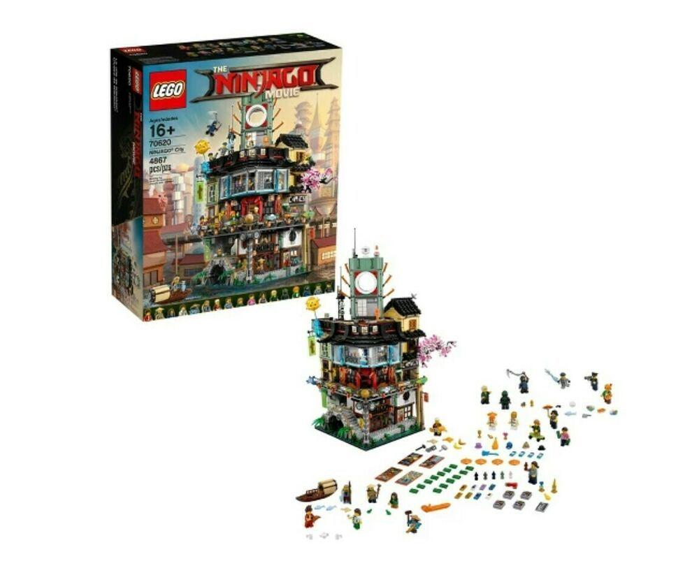 LEGO Ninjago City The Ninjago Movie Set 70620 Ready to Ship.