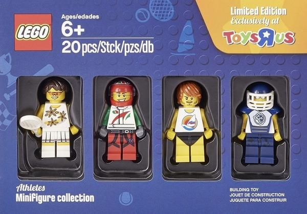 LEGO Athletes Minifigures Collection 5004573 Toys R Us Exclusive