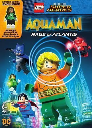 Lego Dc Super Heroes-aquaman-rage Of Atlantis (dvd-with-figurine)