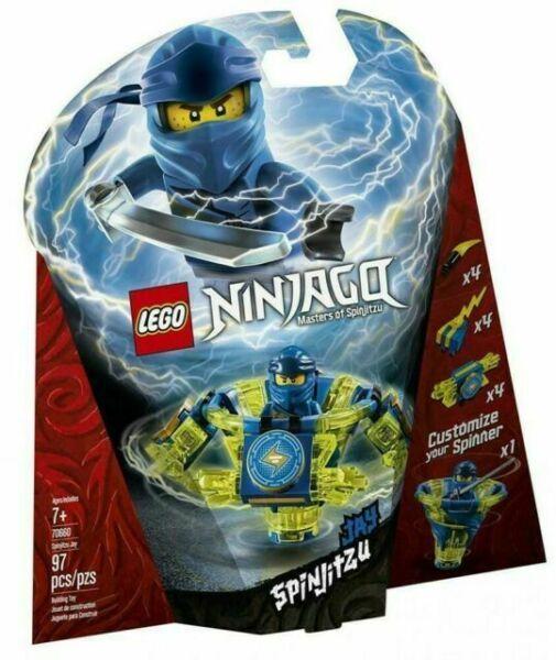 LEGO Ninjago Spinjitzu Jay 70660 Building Kit 97 Pcs for sale online | eBay