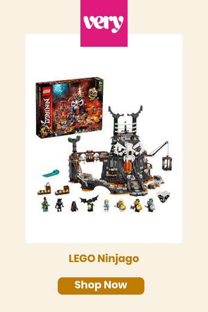 Lego Ninjago 71722 Skull Sorcerers Dungeons 2In1 Build & Board Game