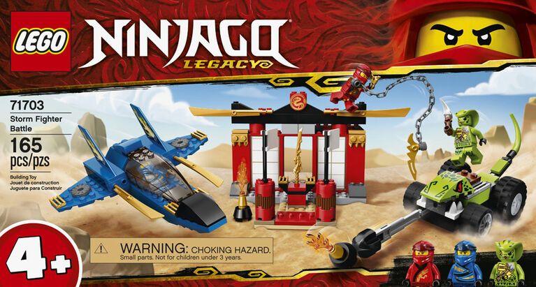 LEGO Ninjago Storm Fighter Battle 71703 – French Edition