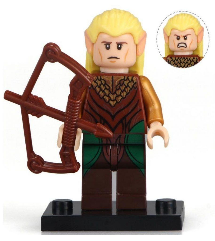 Legolas Lord of the Rings Custom minifigure.   Brand new in package.