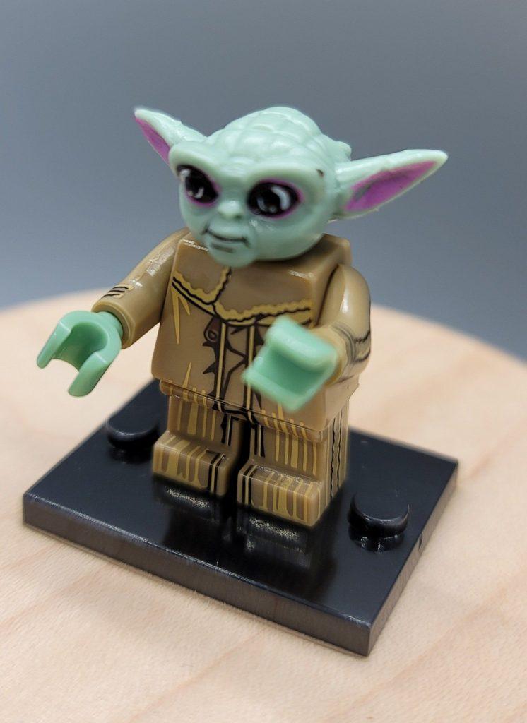 Baby Yoda Star Wars custom minifigure.    Brand new in package.