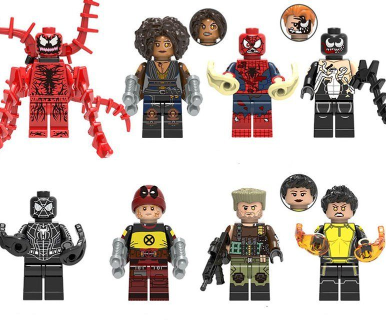 Venom movie Domion Cable Venom Minifigures Lego Compatible Super Heroes set