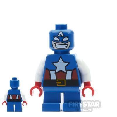 LEGO Marvel Captain America – Short Legs