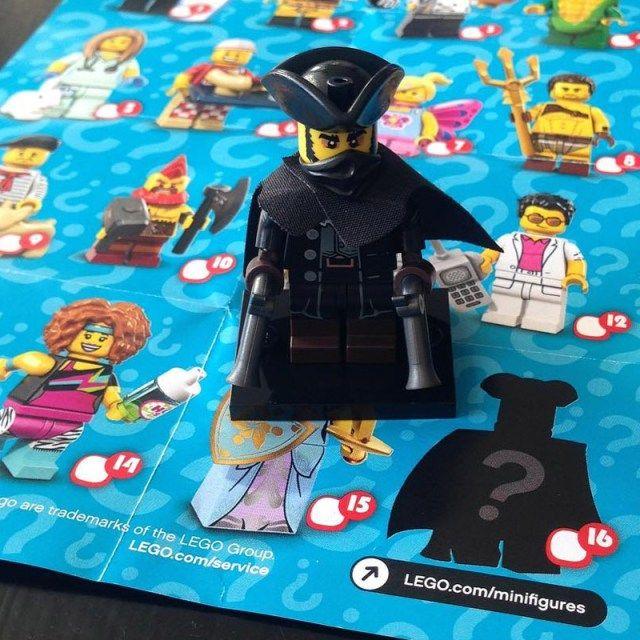 LEGO 71018 Collectible Minifigures Series 17 : la minifig mystère dévoilée ! – HelloBricks